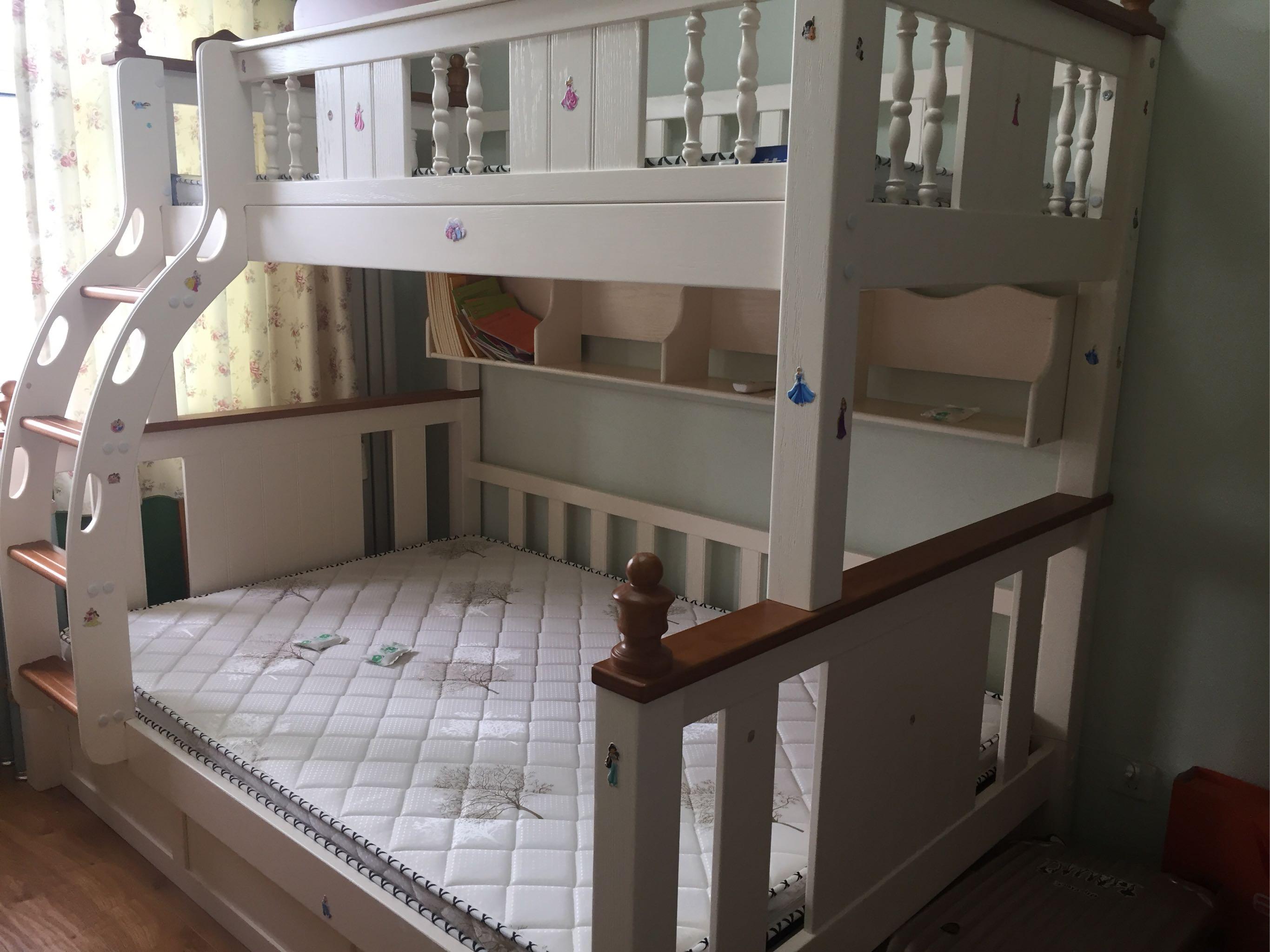 新买了一个儿童床和宝宝分床睡,用德宣甲醛宝除甲醛使用经过