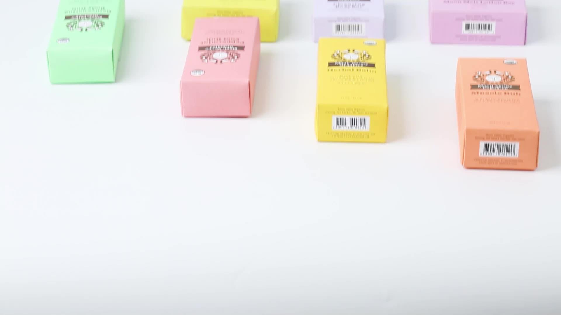 Печатная бумажная упаковочная коробка для крема, бумажные упаковочные коробки для косметики с золотым тиснением фольги 2 унции 60 мл 30 мл бумажная коробка для еды
