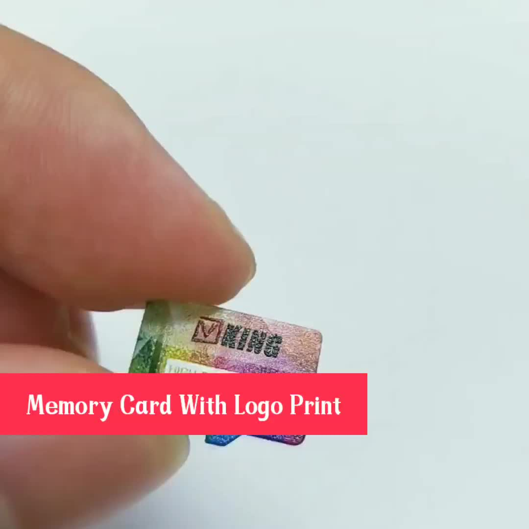 C10 High Speed Full Capacity Memory Sd Card custom logo micro memory sd / tf card
