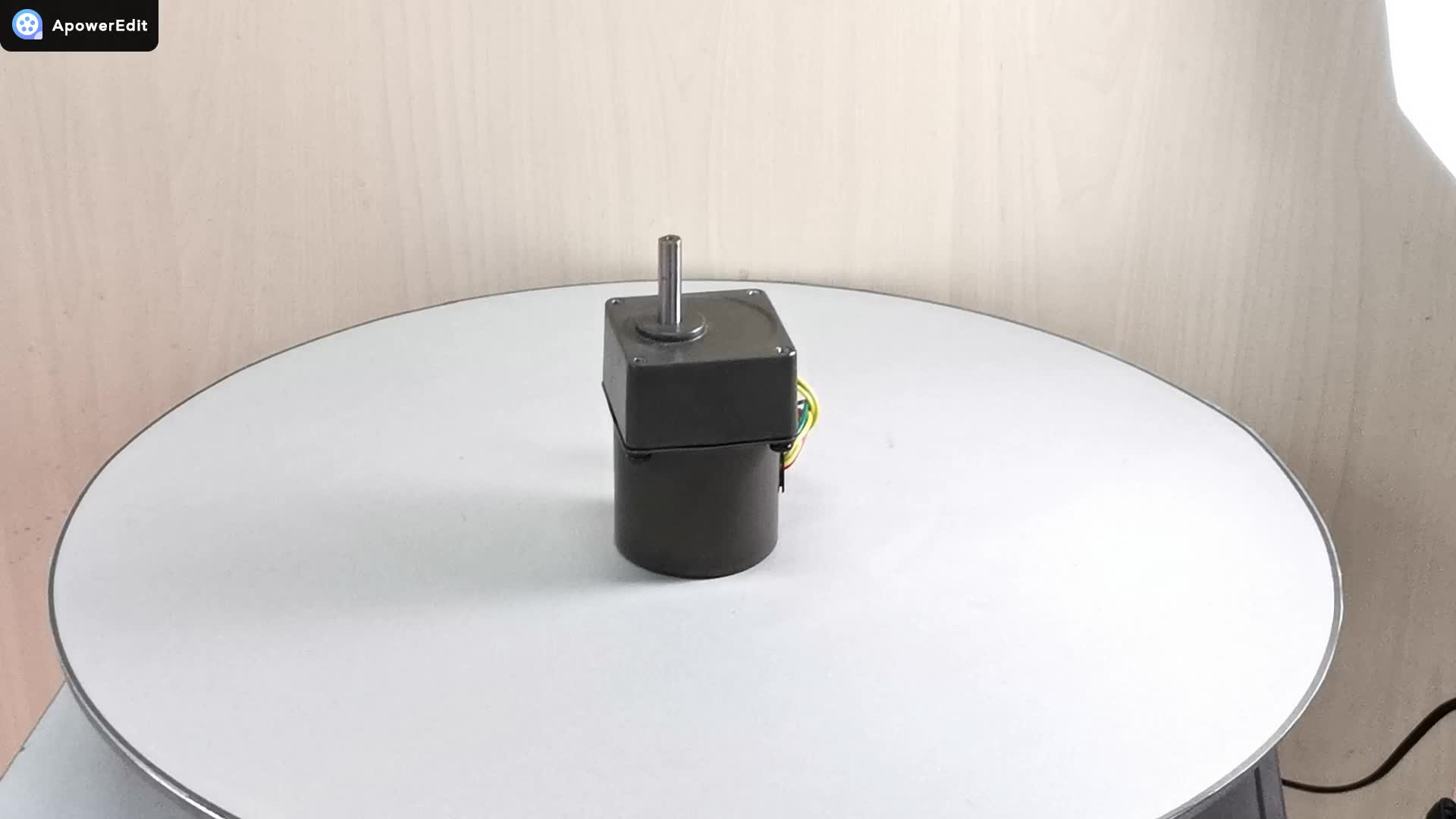 Reversible 220v ac 50/60hz permanent magnet synchronous motor