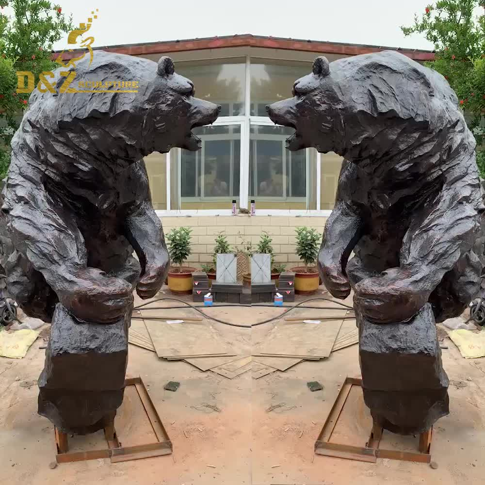 Wholesale animal statue and large metal garden eagle sculpture
