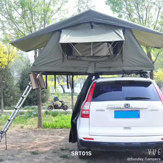 China Manufacturer 4WD Automobile Camper Roof Top Tent