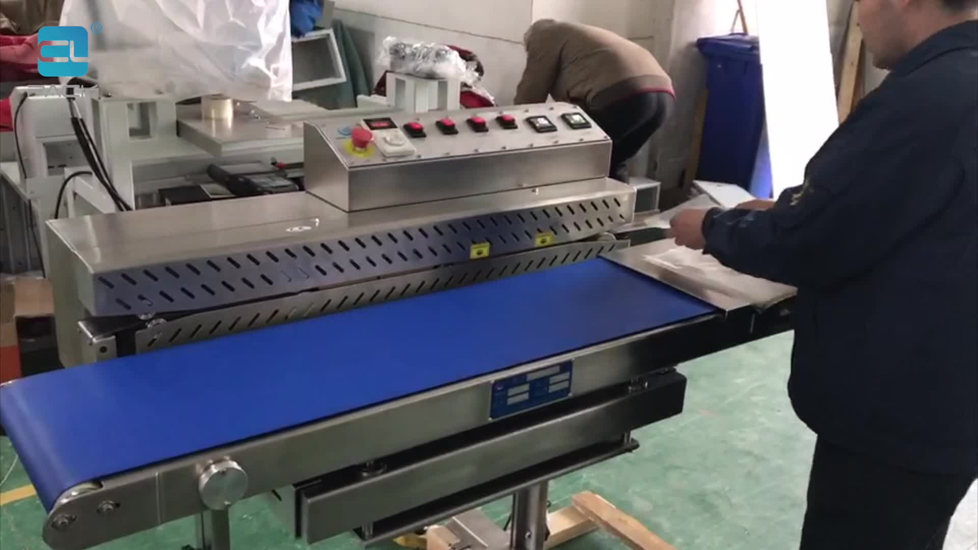 FRK-1520S Automatic Continuous Sealing Machine for Plastic Bags CLPACK
