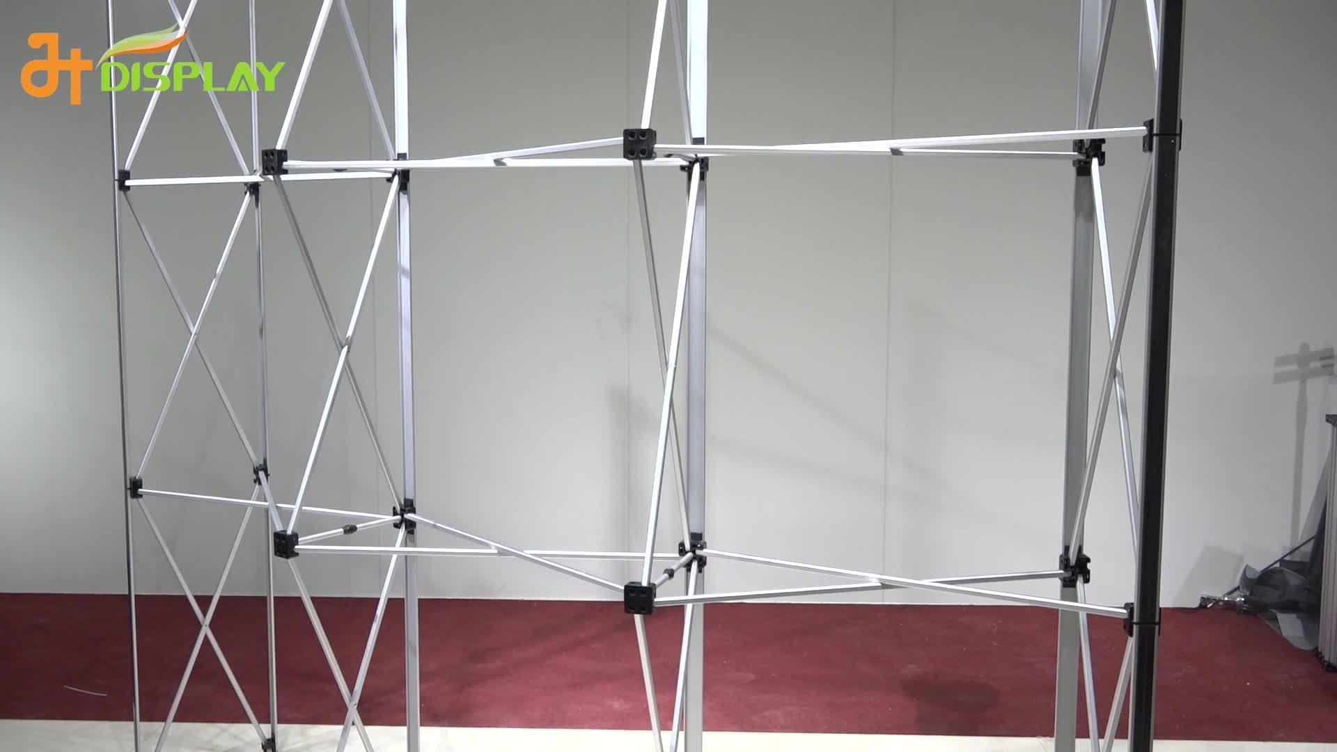 a feira profissional estala acima a cabine carrinho de exposição da exposição de 8ft 10ft