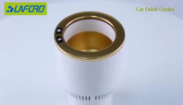 Best vehicle accessories supplier cooling and heating cup holder accesorios para carros autos