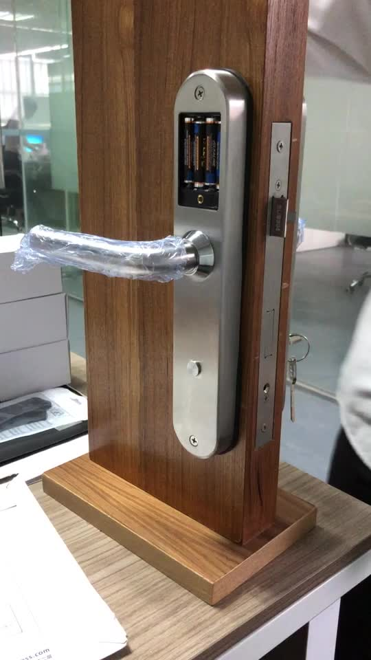 Dongguan Electronic Smart Rf Card Swipe Door Lock Hotel