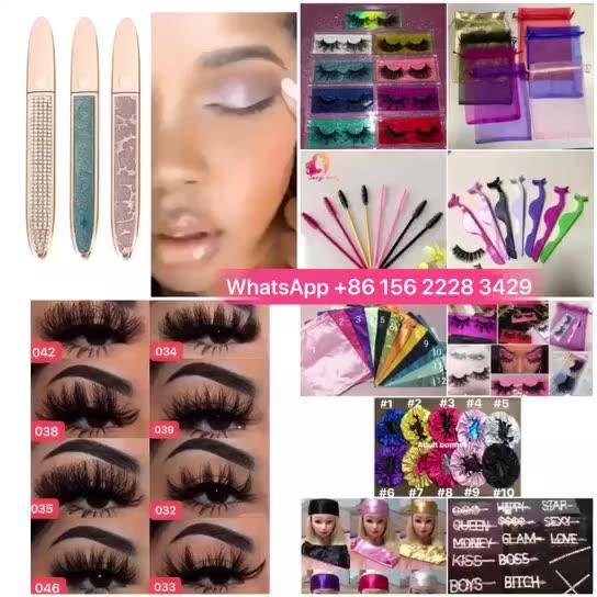 25 mm 3d mink eyelash strip vendors customized lash boxes mink eyelashes factory in guangzhou