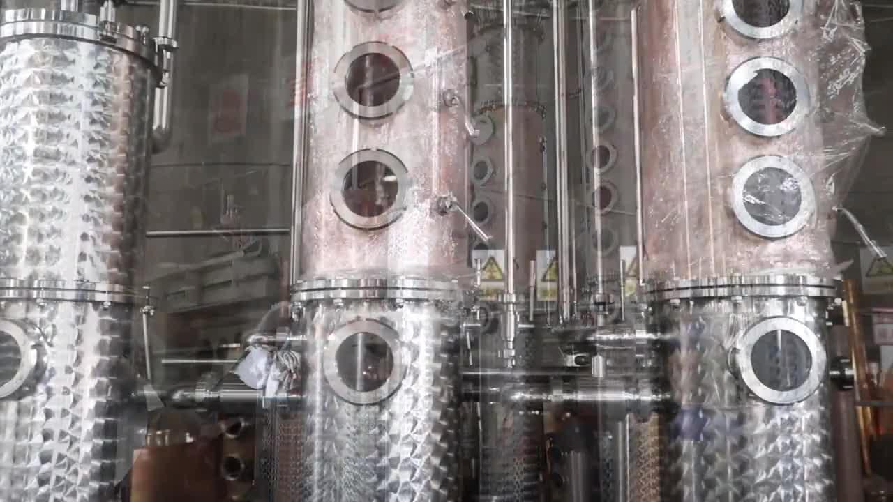 शराब अभी भी आसवनी उपकरण लाल तांबे अभी भी जिन अभी भी multifunctional destiller शराब आसवनी