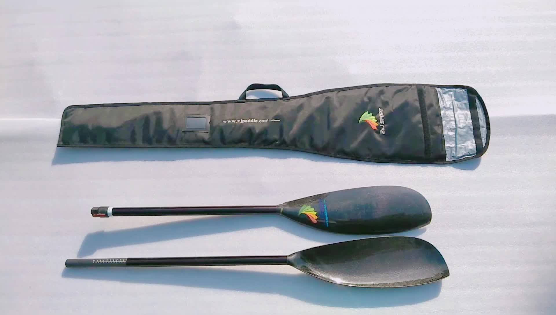 High Performance Lightweight Carbon Fiber Kayak Wing Paddle In Wholesale Price