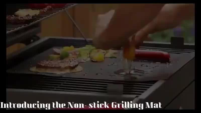 Amazon Bestseller Grill Accessoire Teflon non stick BBQ Grill Mat