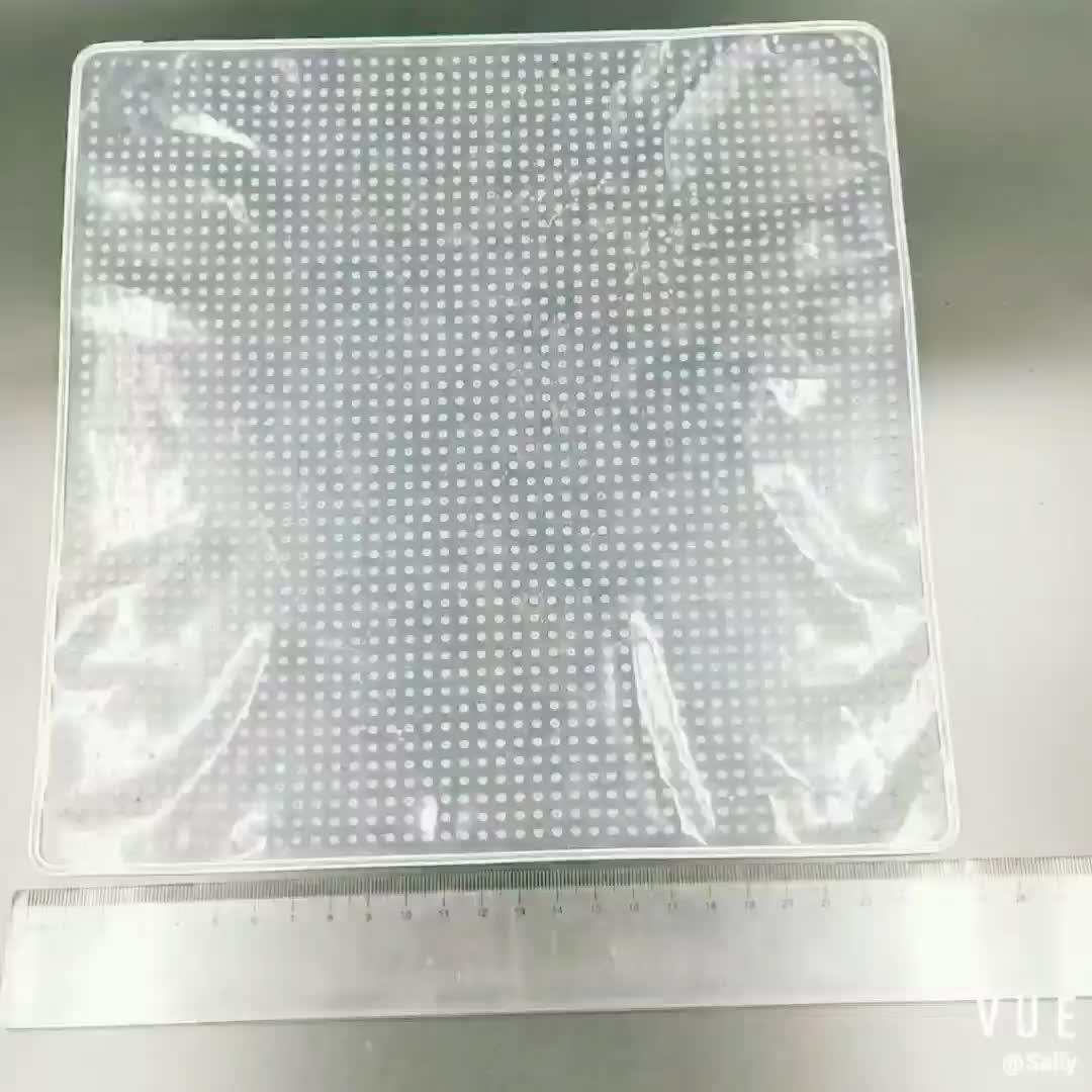 BPA ücretsiz Çevre Dostu yeniden kullanılabilir Kare silikon gıda Tasarrufu Kapakları