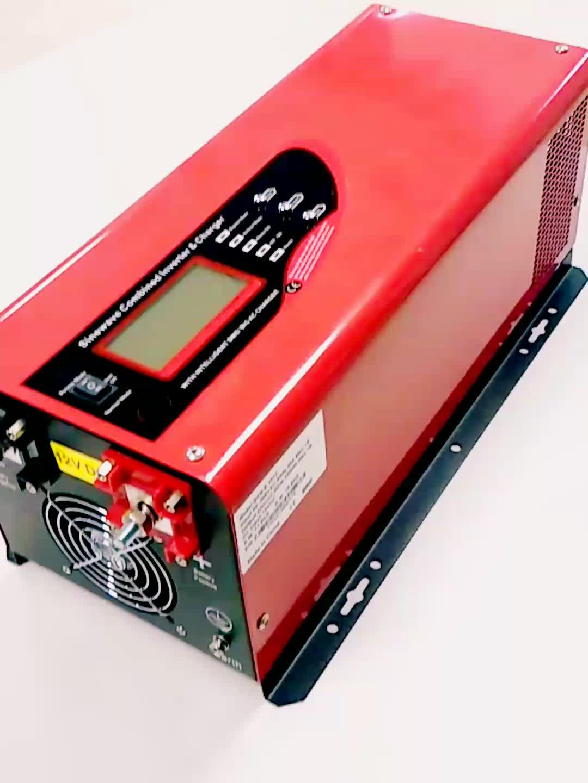 Top 3000W Onda Senoidal Pura Inversor Com Tecnologia Alemã, grande Carregador de Bateria e Transformador de Cobre Puro Por Dentro, baixa Freqüência