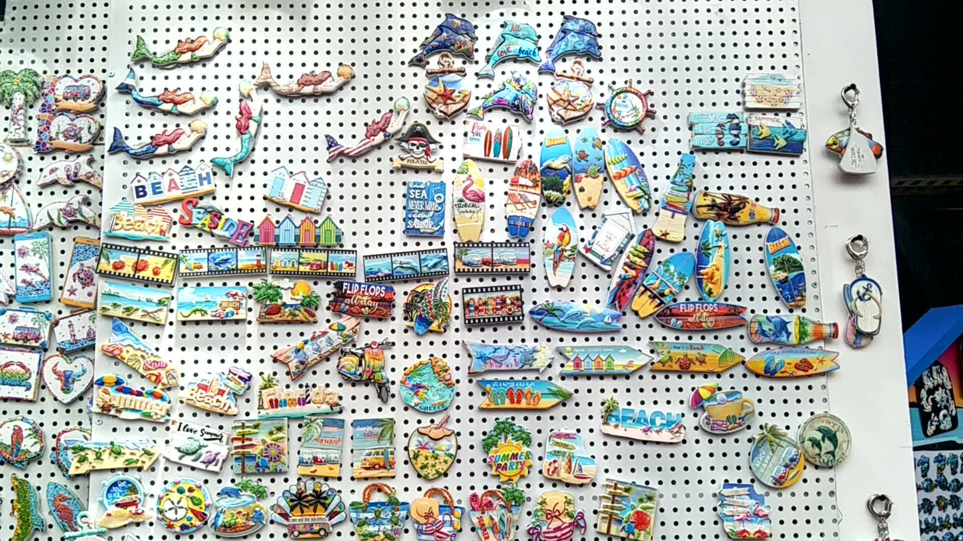 China factory direct supply milieu toeristische souvenir Bulgarije magneet koelkast