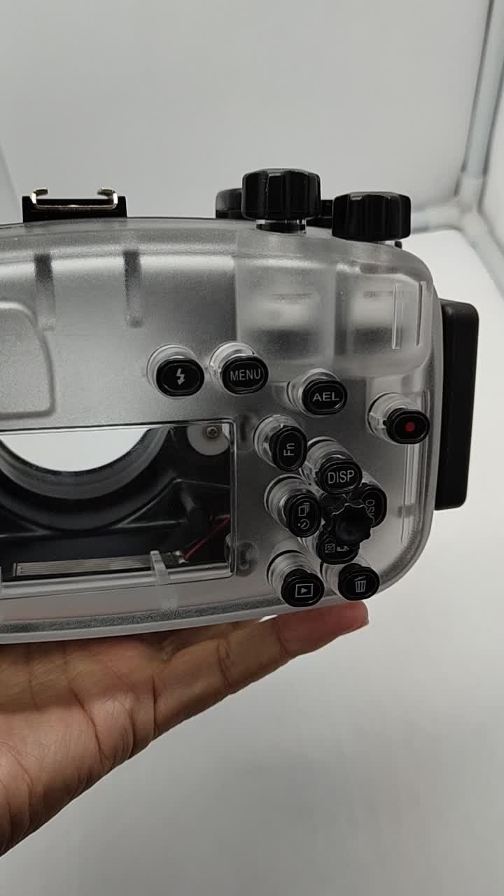 Meikon 6300 wholesale  price 16-50mm  lens  waterproof case underwater housing  for sony camera A6300