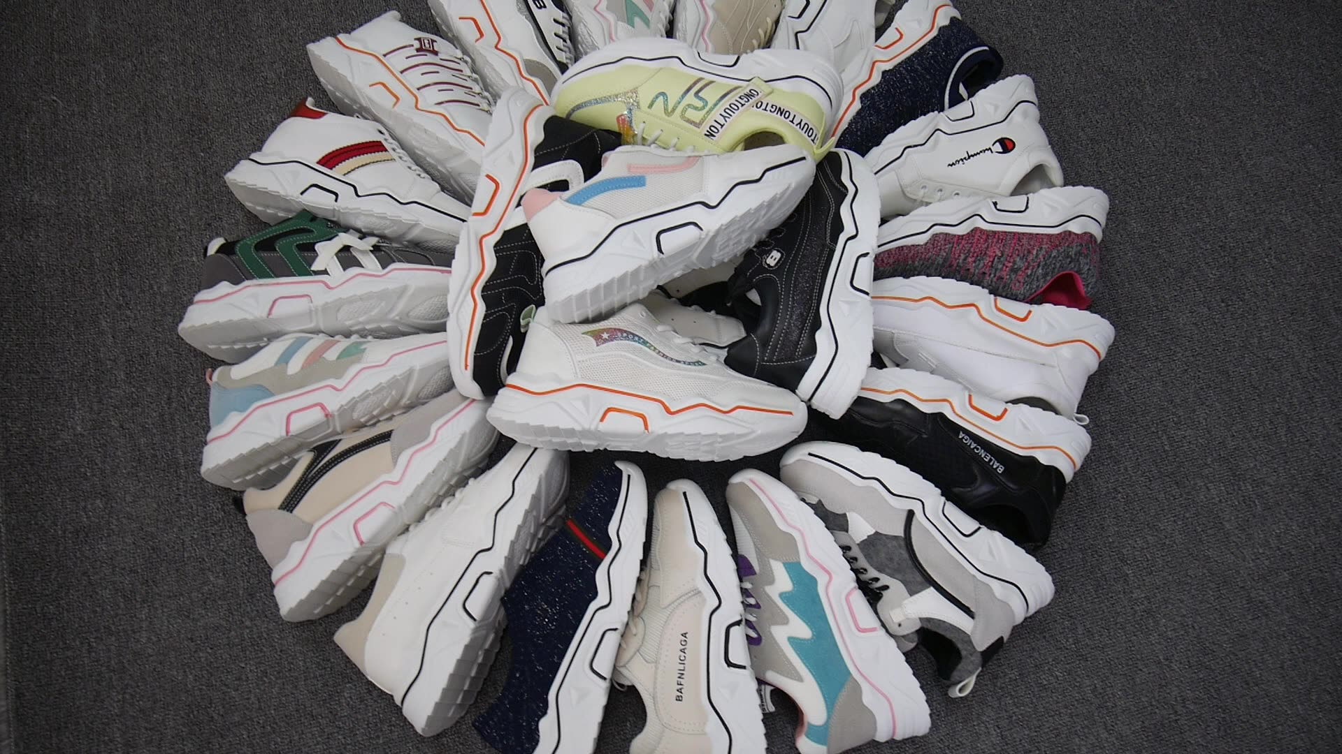 Хит продаж! Женские кроссовки высокого качества; Модная спортивная обувь на платформе; Женские запасы, Белые кеды zapatos para mujer