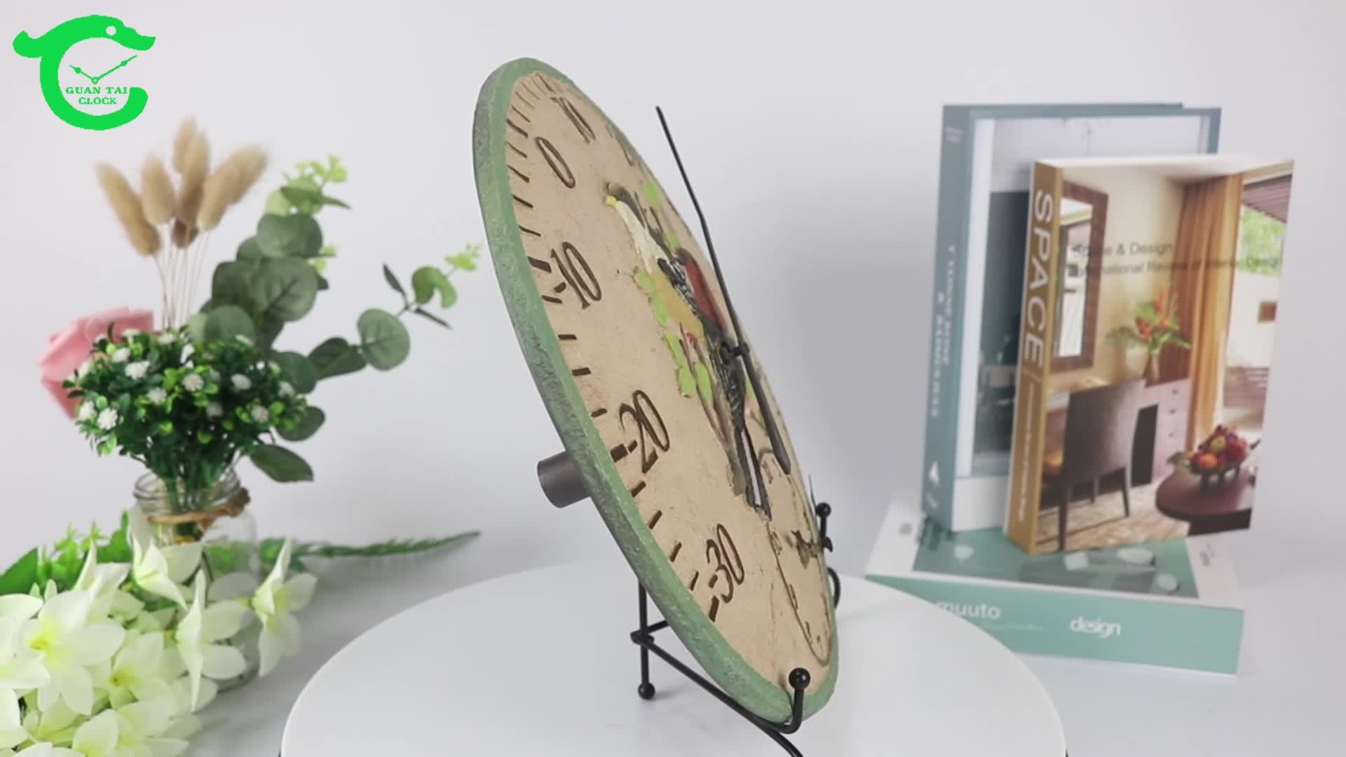 OEM art rustic นาฬิกา cuckoo สำหรับกลางแจ้ง