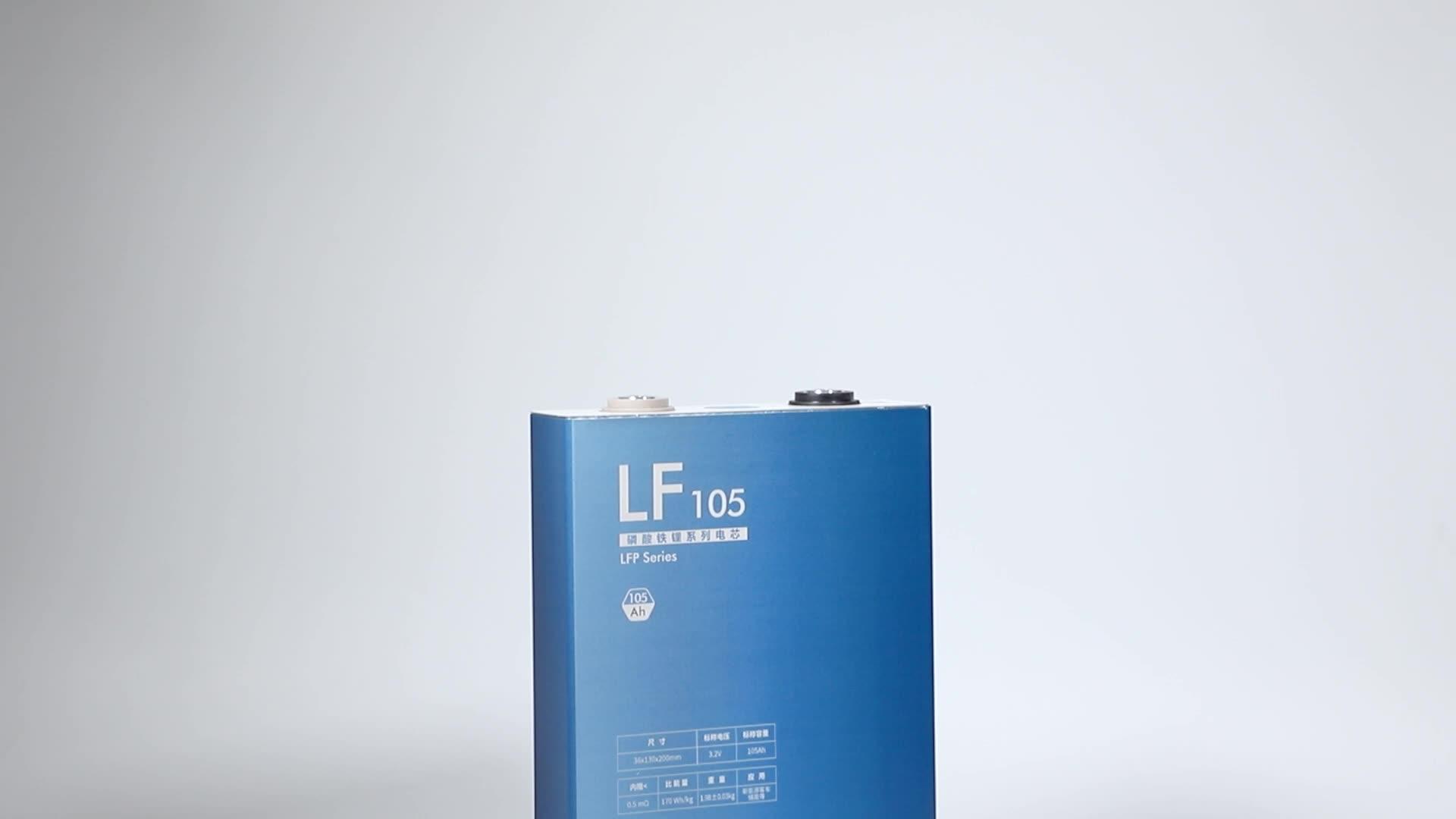 EVE LF105 LFP carrelli da golf UPS Power Tools 3.2V cellula di 105Ah Batterie UN grado Li-Ion Ricaricabile al litio 48V100Ah Lifepo4 batteria