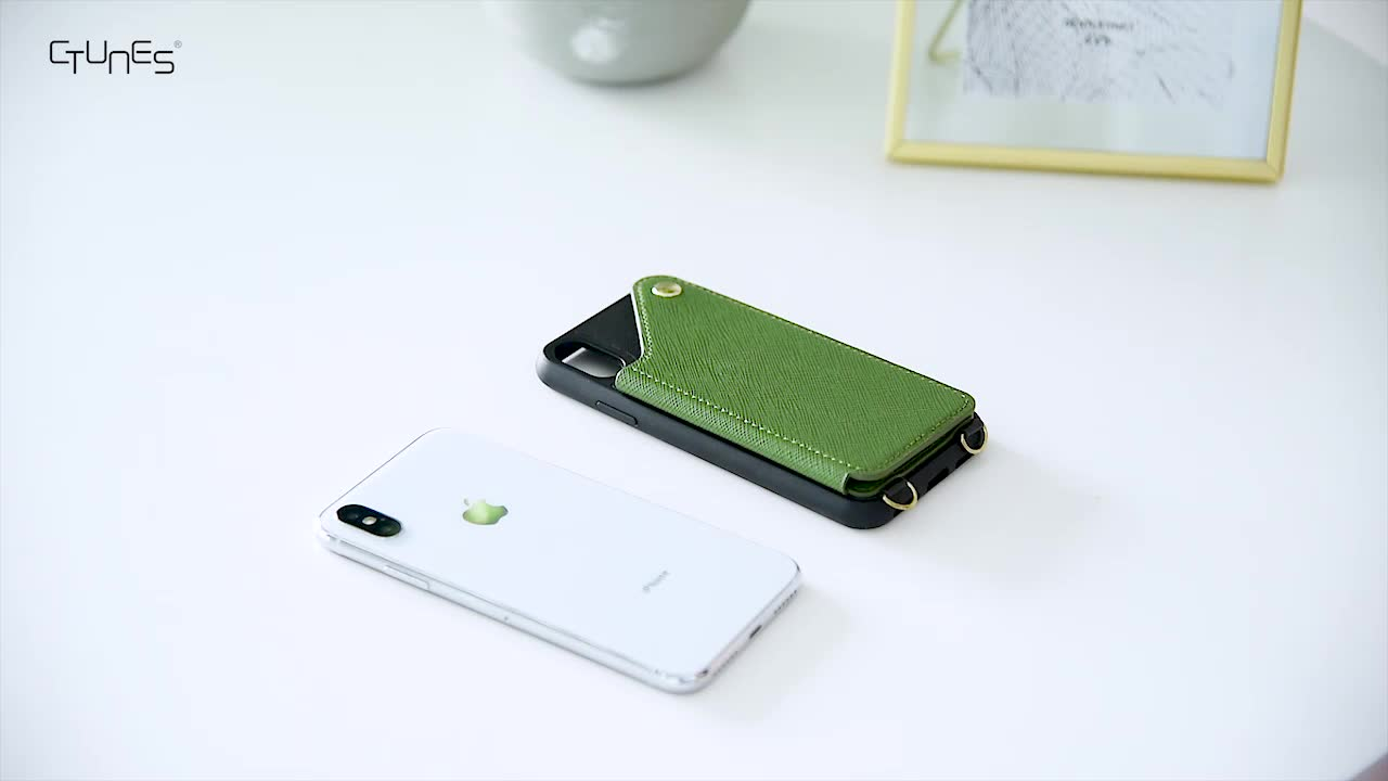 New 2019 Crossbody Wallet Cell Phone Case with Cross Body Phone Purse Bag Card Slot for iphone X Xs