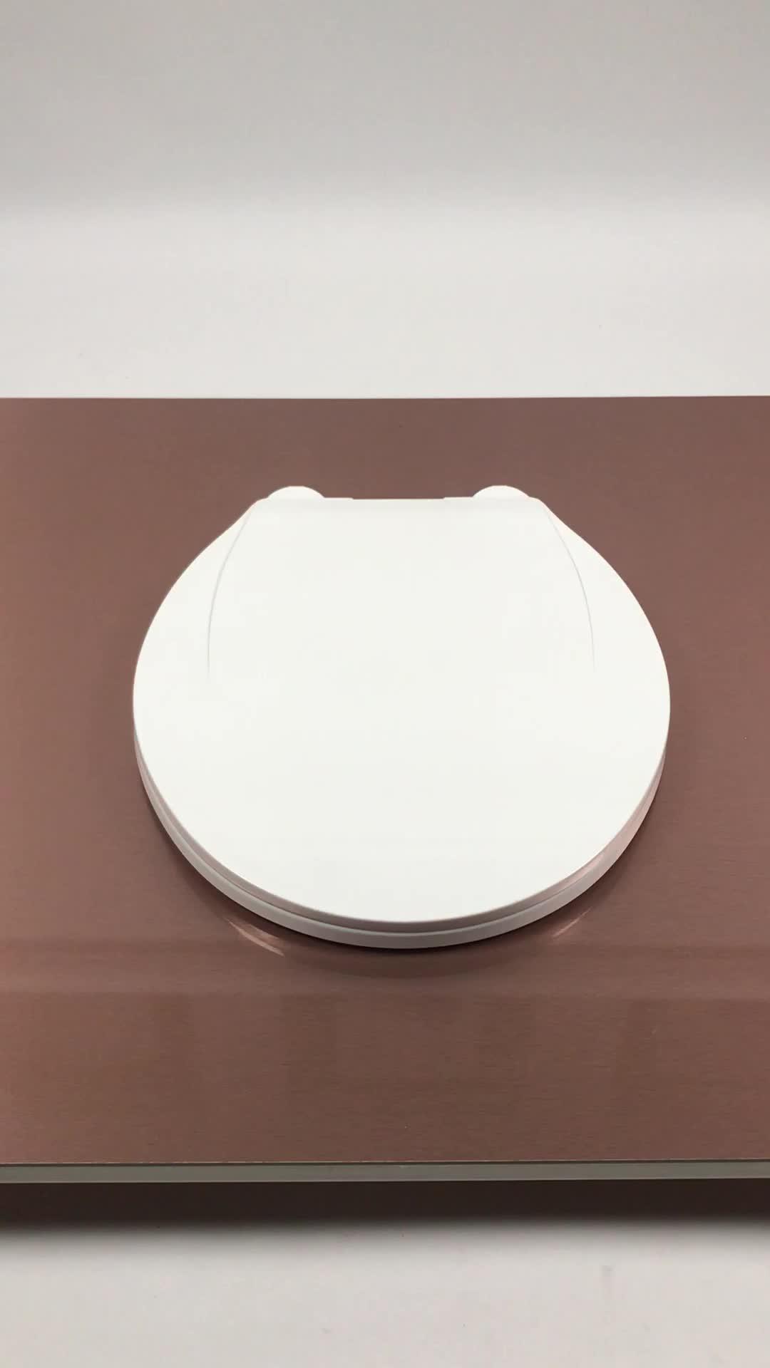 PP material sanitärkeramik runde form wc sitz