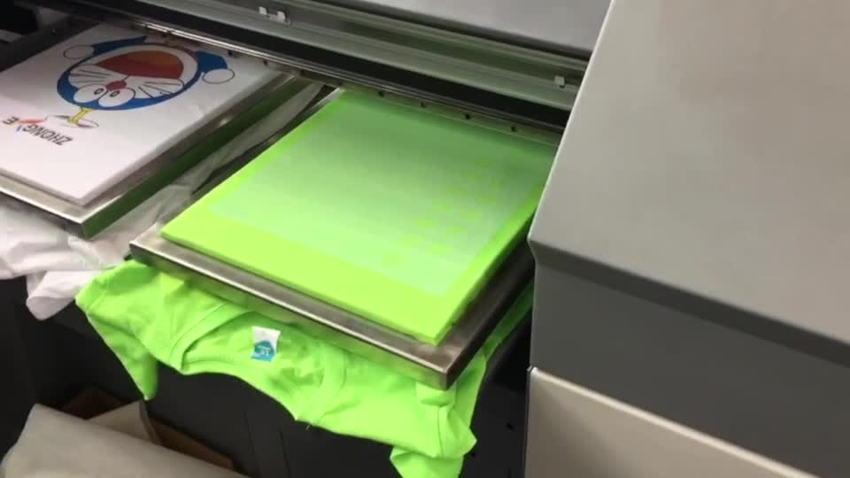 Multifunction big Size dtg printer flatbed t-shirt printing machine prices