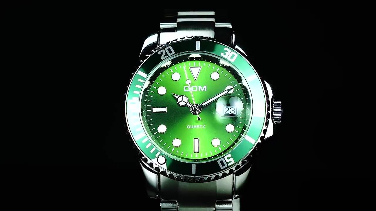 Лидер продаж 2020, популярные мужские часы с логотипом на заказ, Классические мужские часы из нержавеющей стали для дайвинга с японским кварцевым механизмом
