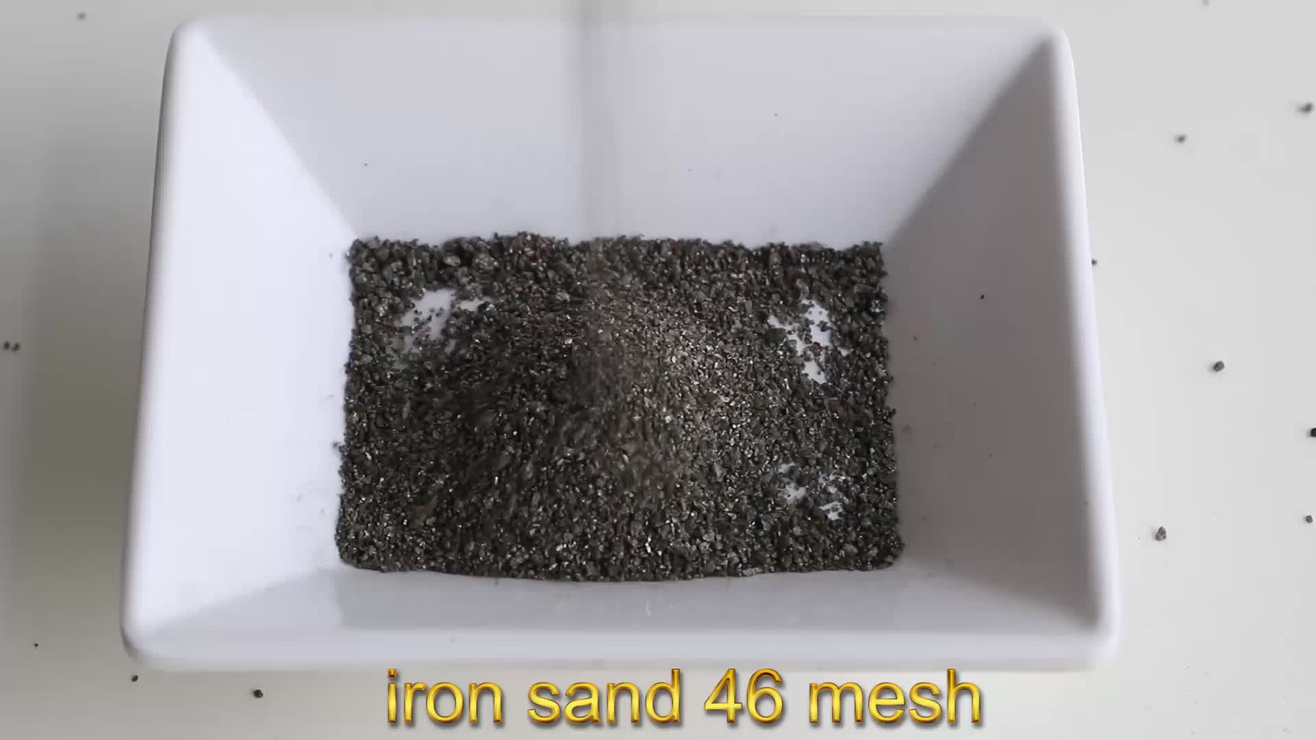 Manufacturers direct selling iron sand use for rust removing