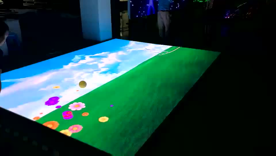 Super Thin Portable Stage Video LED Screen for Sale, Rental Indoor P8.9 RGB Dance Floor Tile LED Display