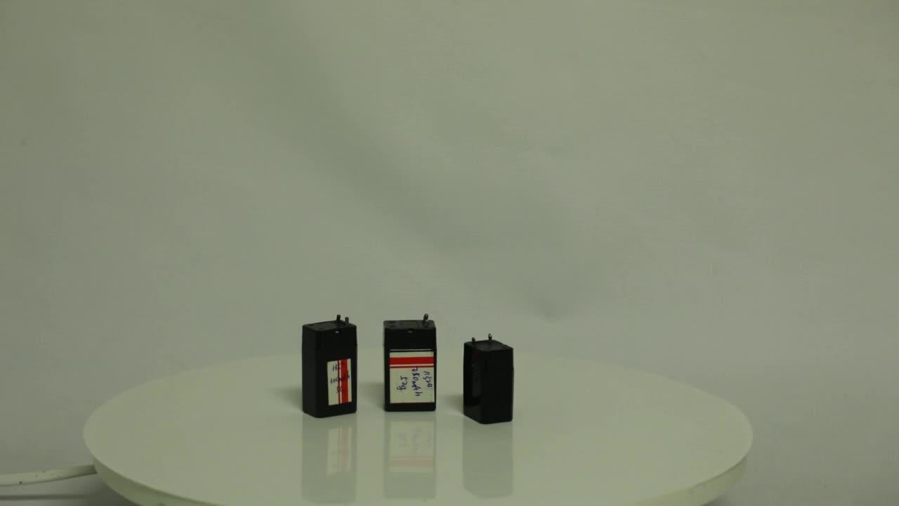 נטענת אטום 4 v עופרת חומצת סוללה עבור מכשירי חשמל לבית קטנים