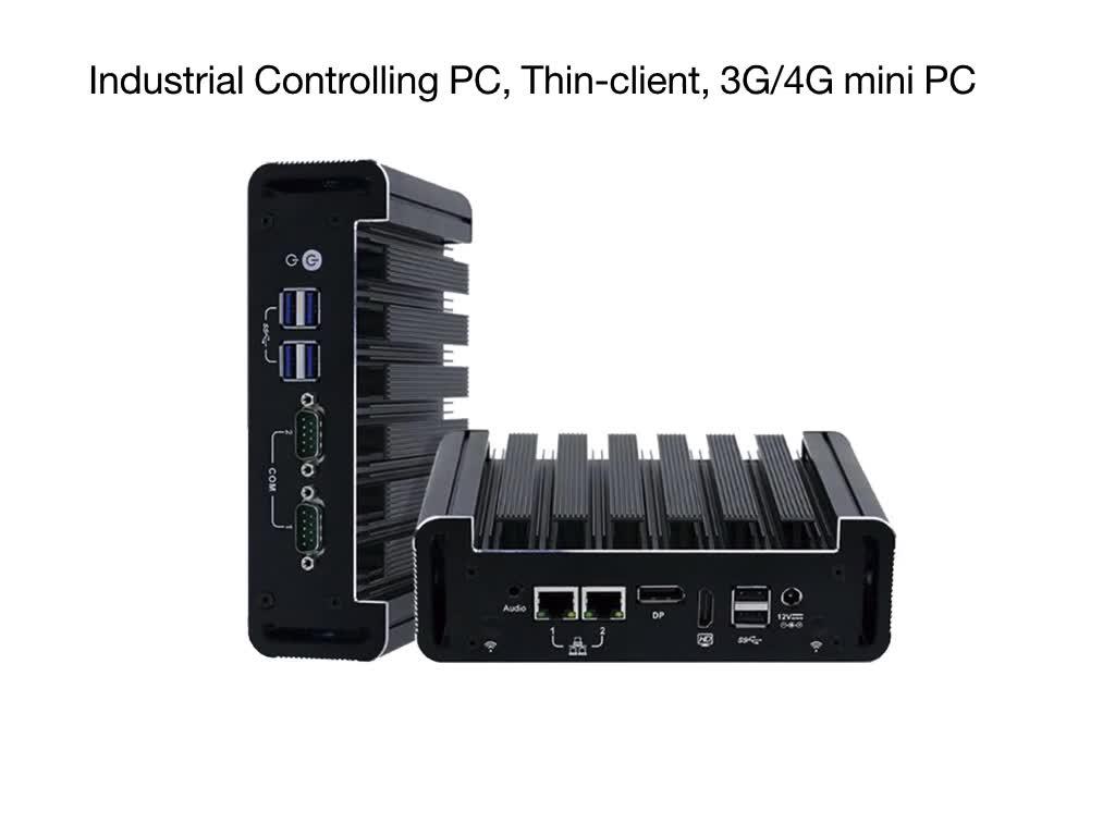 2017新しいインテルj1900クアッドコア超低電力シンクライアントデスクトップコンピュータmpcie 2 1グラムイーサネットファンレスのubuntuミニpc 12ボルト