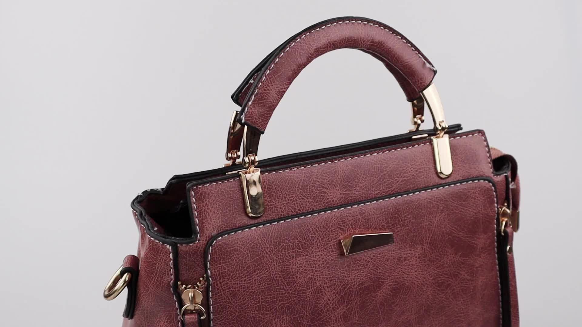 2019 Classic High Quality Women Bag Leather Handbag For Lady