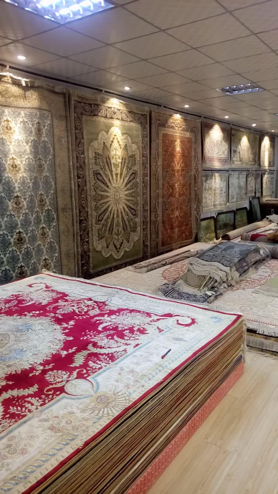 YUXIANG จีนพรม 4 * 2.7ft โรงงานโดยตรงราคาผ้าไหมพรม nain เปอร์เซีย handmade พรม