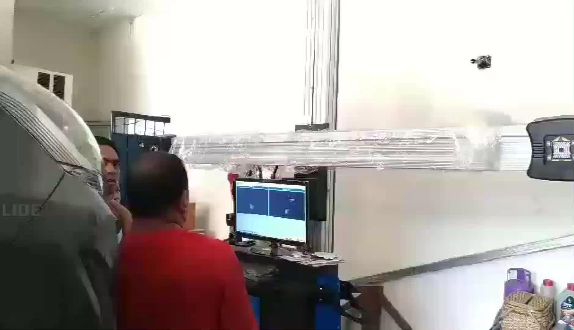 ใหม่และร้อน3Dเครื่องตั้งศูนย์รถbalancerล้อและเครื่องตั้งศูนย์ล้อ
