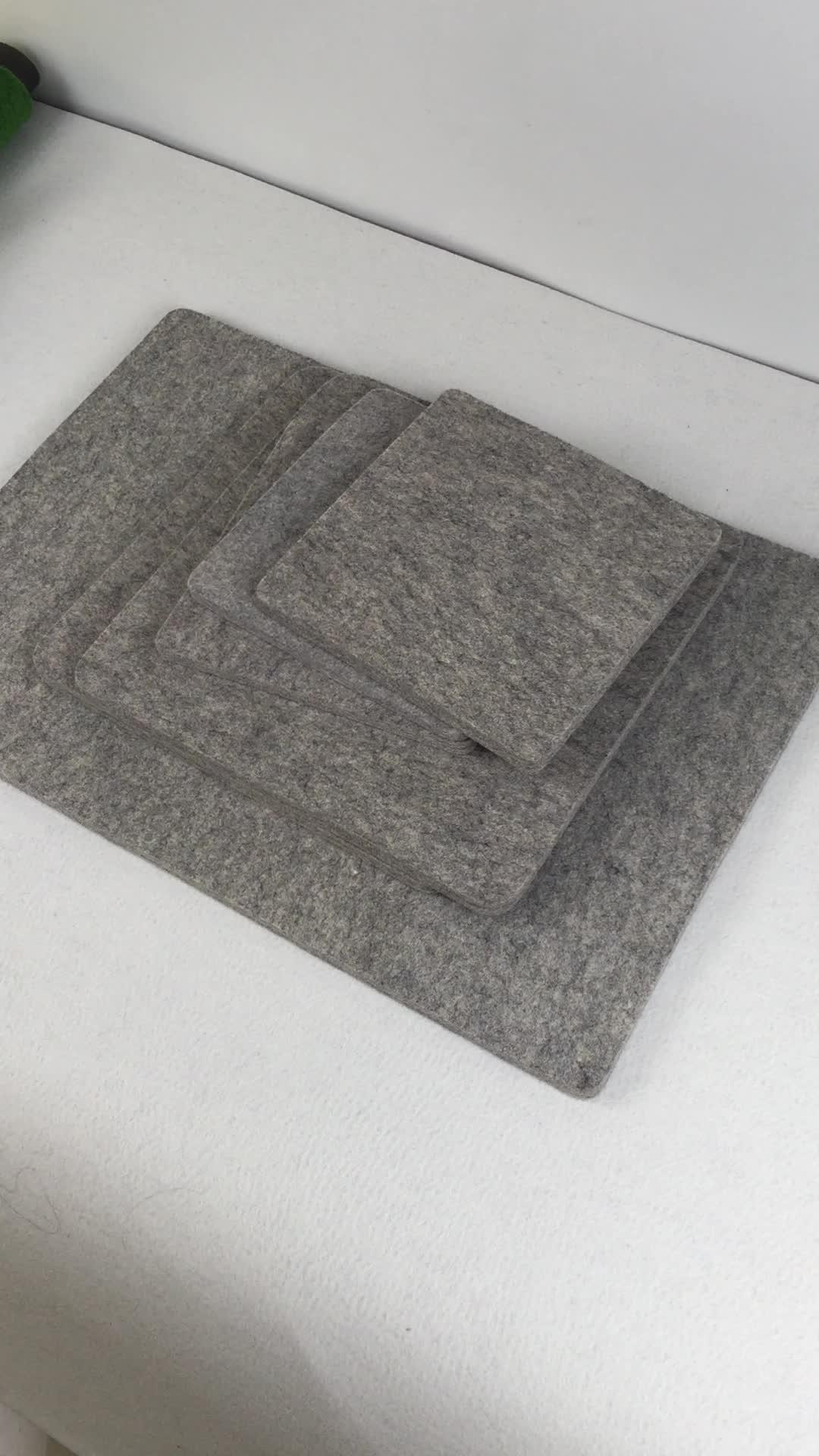 3/4 inch Dikke Wol Drukken Mat Vervilte Strijkplank Pad 17*24 inch