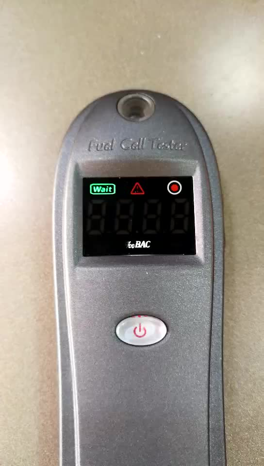 Low Low cost Fuel Cell alcohol tester 2019 breathalyzer compact size & quick response