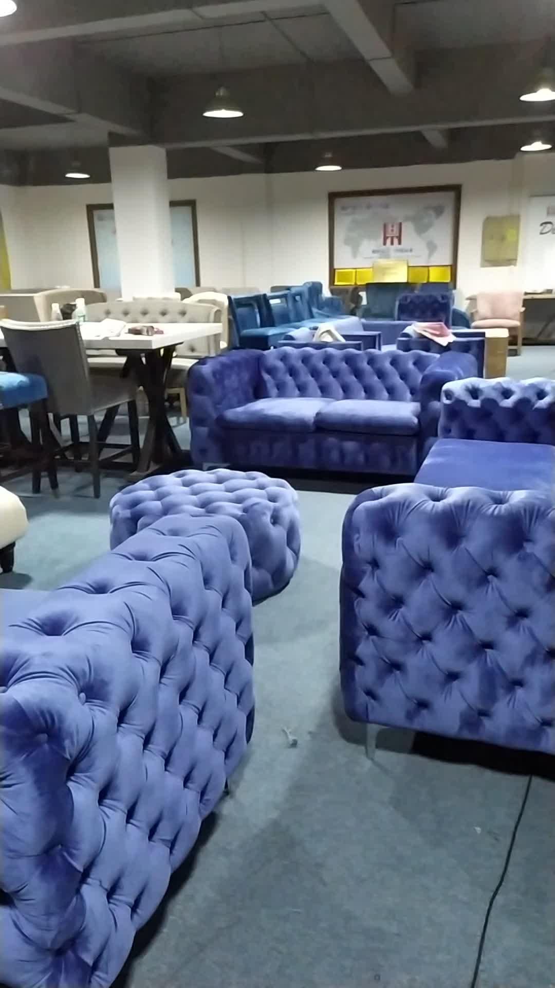 16 jaar fabriek modern design luxe meubels stof sets couch woonkamer slaapbank fabrikant