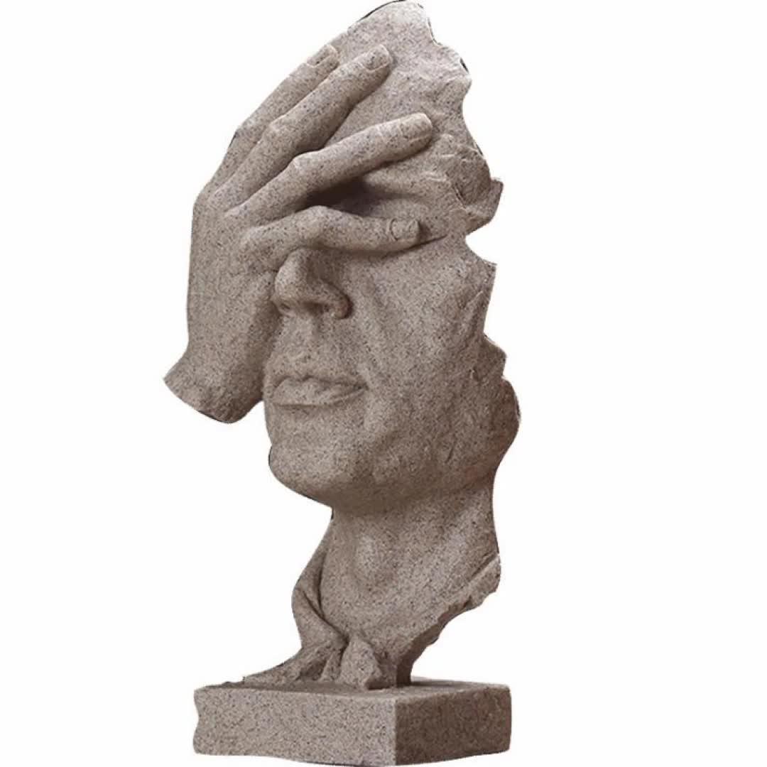 שרף אמנות בית תפאורה החושב את הוגה פסל