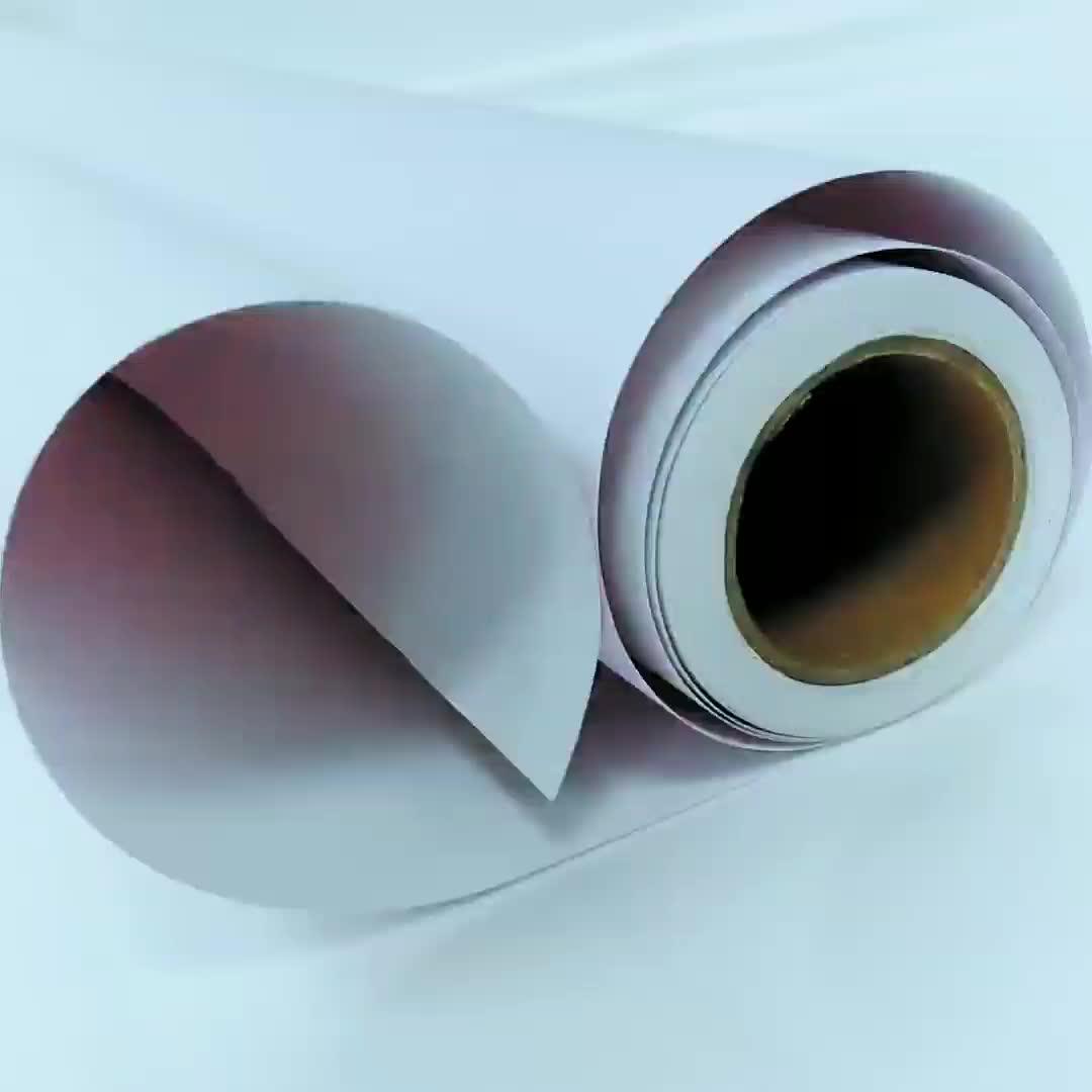 VOAR preço de fábrica Auto-adesivas rolos de Vinil Branco Fosco, impressão em vinil para a tinta à base de água, matt vinil à prova d' água