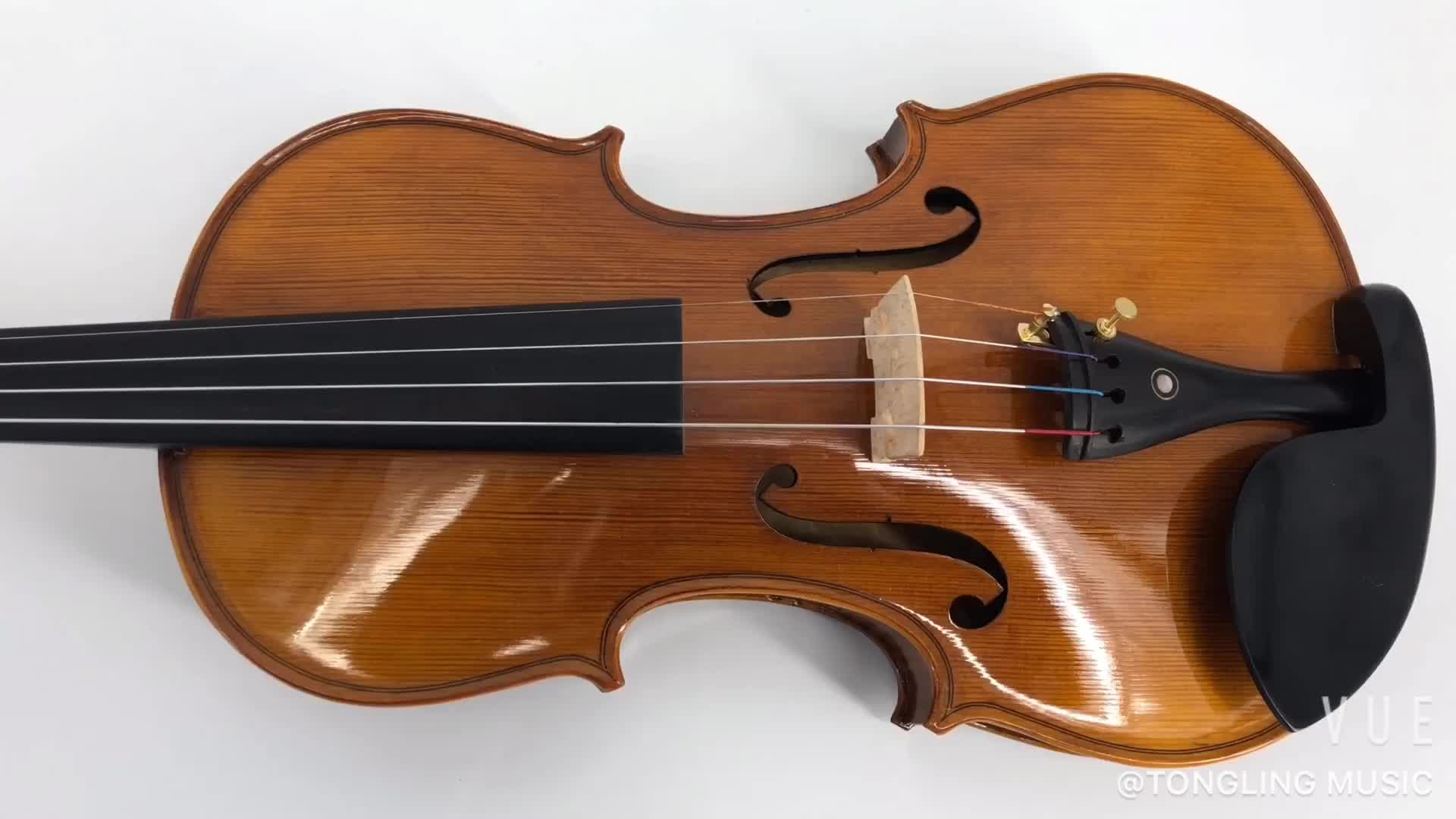 Handmade flame 4/4 student Violin