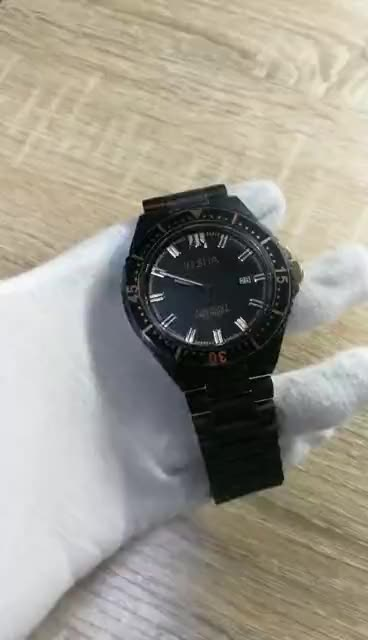 OEM Scratch-resistant Sapphire Glass 316 Stainless Steel Wristwatches Men Automatic Mechanical Watch