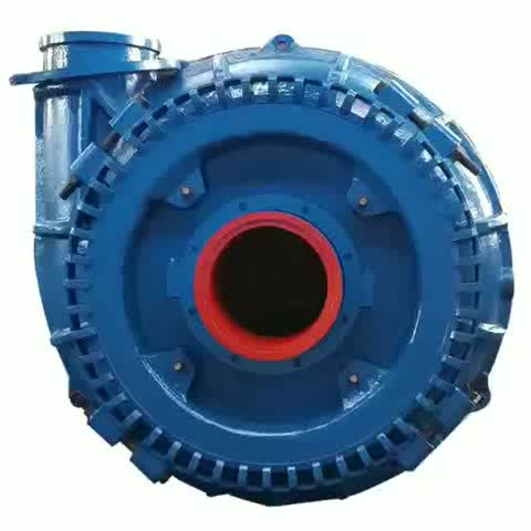 WSG Heavy Duty Large Flow 12inch Sand Suction dredger Pump