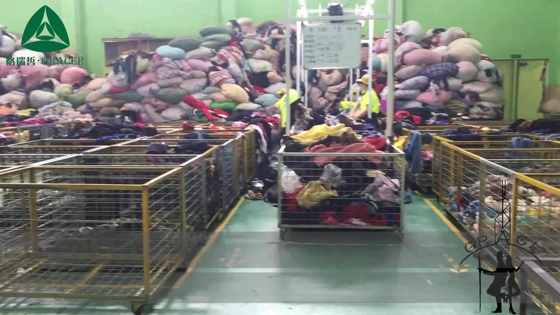 बच्चों के बच्चे को कपड़े गांठें 50 kg गांठें पोलैंड शैली का इस्तेमाल किया मिश्रित इस्तेमाल कपड़ों