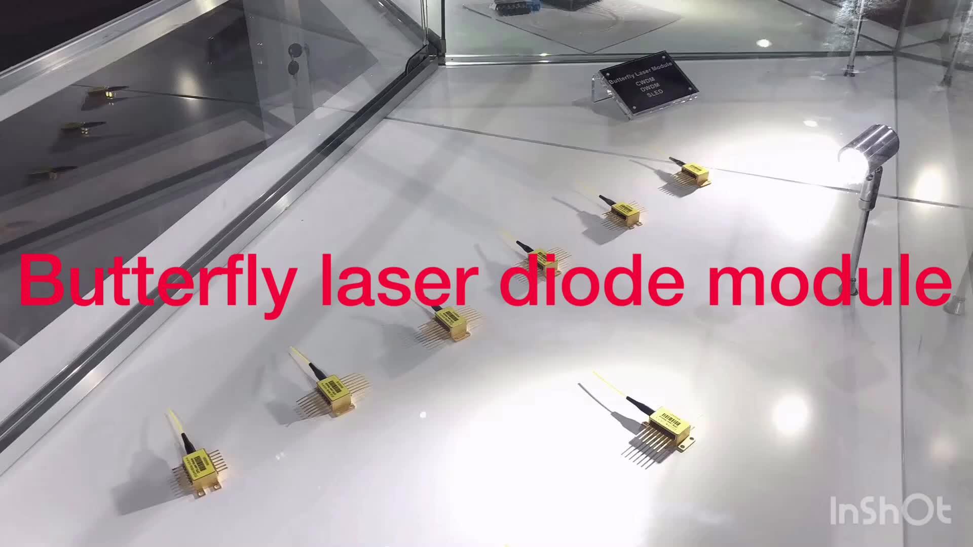 1310nm DFB lazer diyot modülü 10mW 4 pin CATV verici modülü