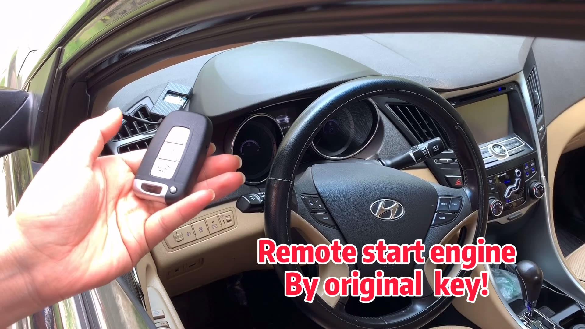 Cardotชุดรีโมตควบคุมรถอัจฉริยะ,ปลดล็อกรถแบบไม่ใช้กุญแจ