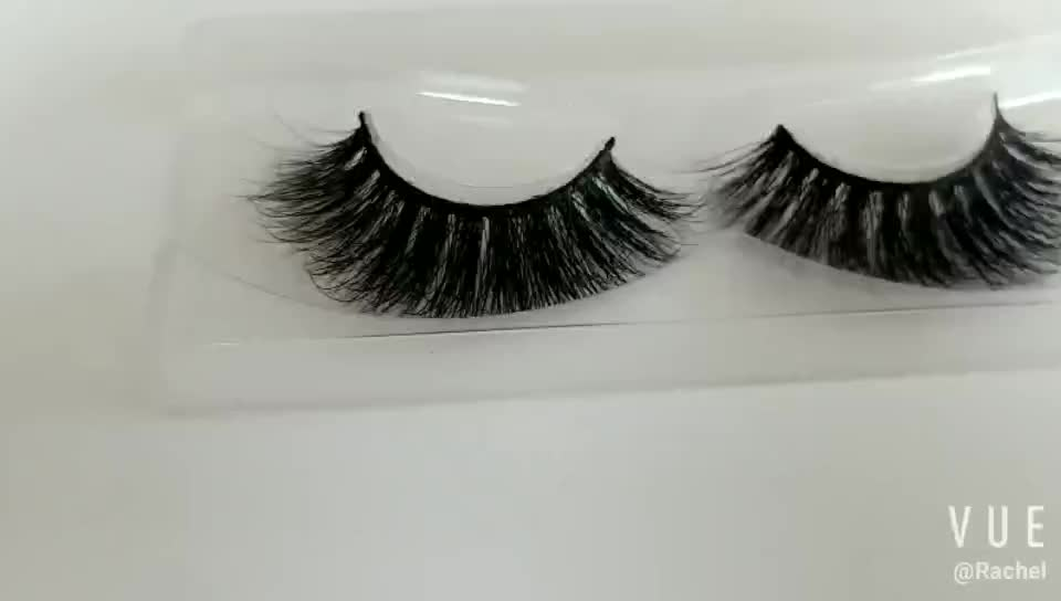 Hot Sale High Quality 3d Mink Fur Eye Lashes False Lashes Wholesale with Packaging