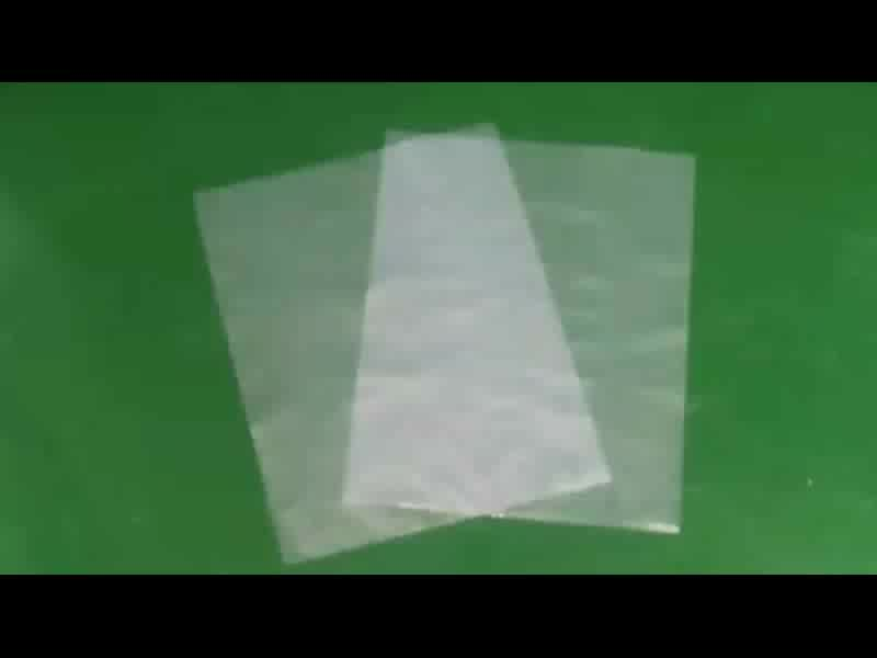 recycling pe ldpe clear gift flat heat seal transparent food poly plastic packaging bag for fish