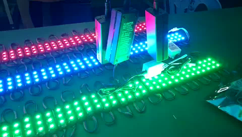 Energy king led module 5050 blister package rgb led module