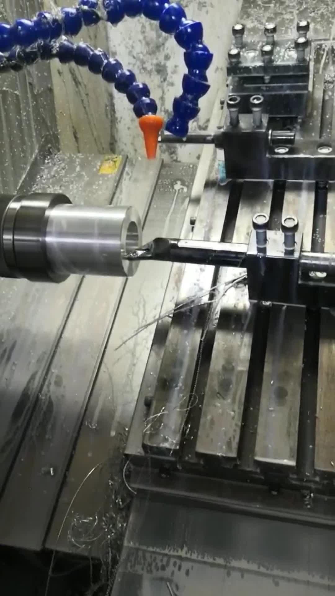 Top Fabricante CNC Personalizado Usinagem CNC para Torneamento de Alumínio Parte