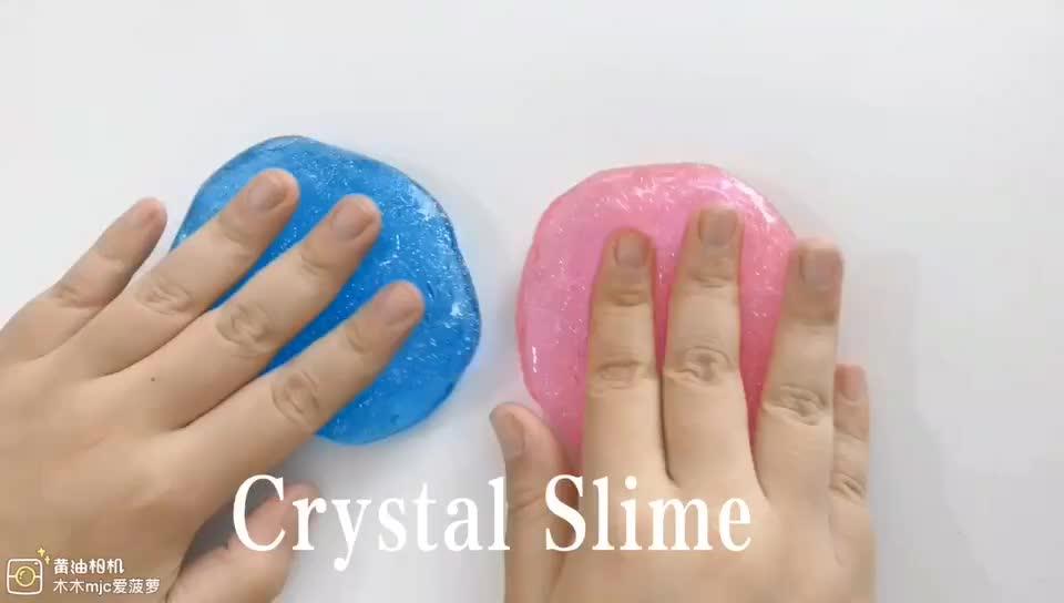 Amazon Offre Spéciale jouet éducatif BRICOLAGE cristal clair slime kit charmes laboratoire slime