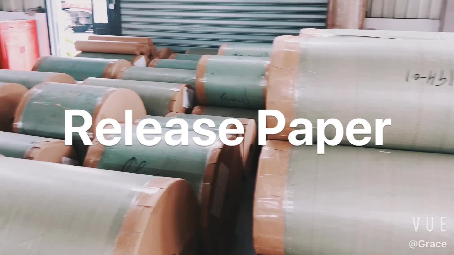 120g silicone release paper jumbo rolls