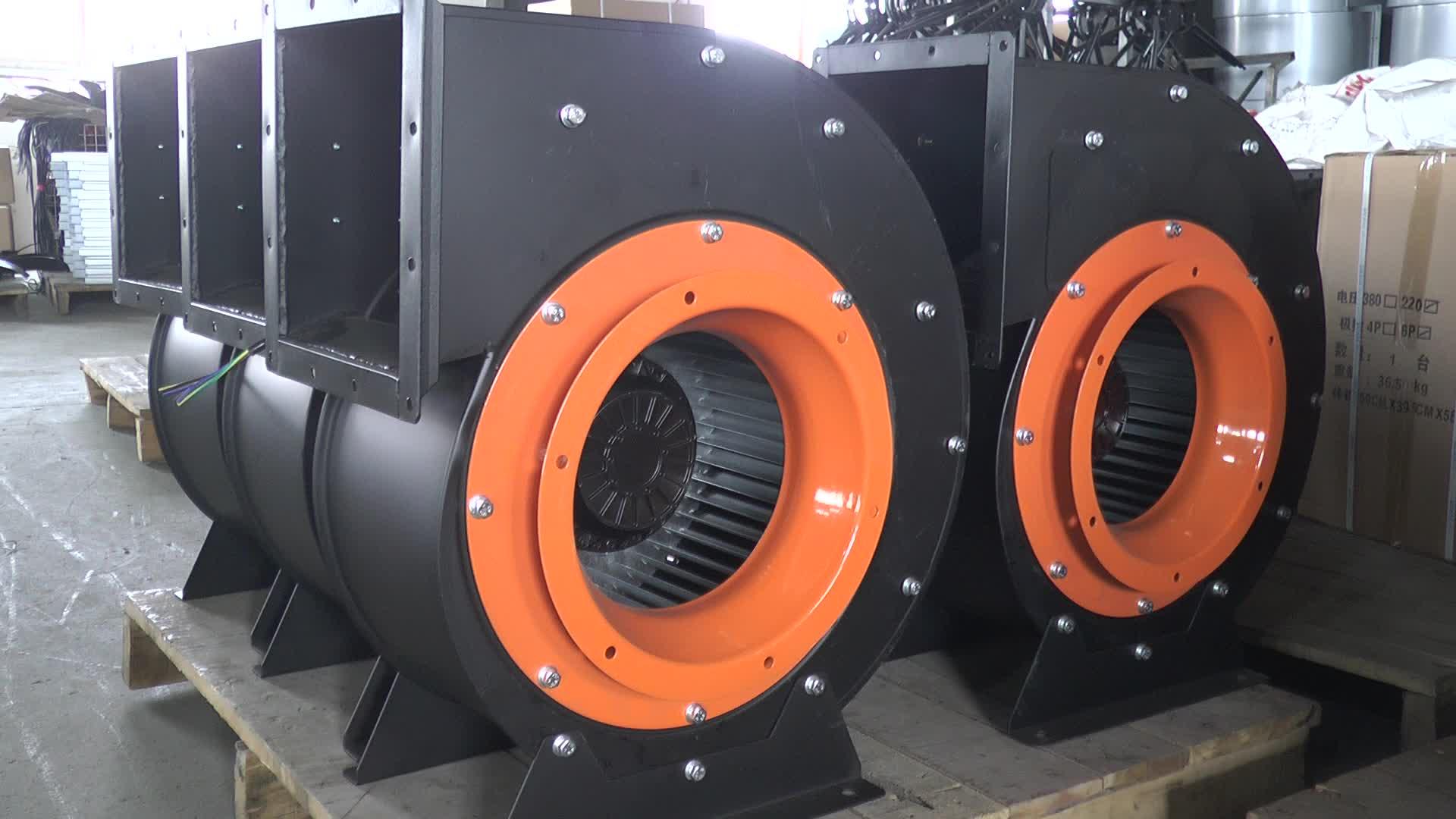 Metalen kleine industriële ac blower rustige centrifugaal ventilator